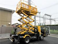 ISUZU ELF TRUCK Aerial work platform 2012